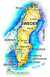 Admission In Swedish Universities - Sweden map universities